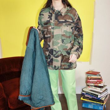 Authentic Army Jacket L