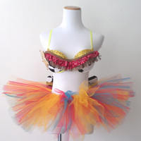 Cowgirl Rave Bra / EDC Outfit Size: 34A