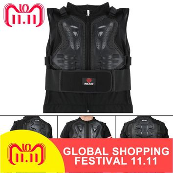 Outdoor Motorcycle Moto Motorcross Racing Chest Back Protector Gear Motocross Racing Body Protection Armor Jacket Sport Guard
