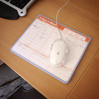 ThinkGeek :: Tear Away Planner Mousepad