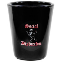 Social Distortion - Skelli Shot Glass