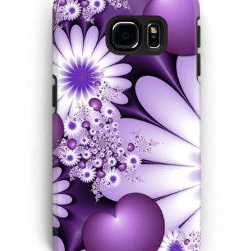 'Falling in Love Fantasy Fractal Art' Samsung Galaxy Hülle & Skin by gabiwArt
