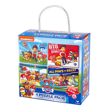 Paw Patrol 4-Puzzle Pack