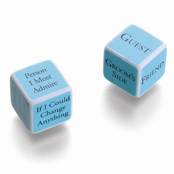 Bridal Shower Dice Game
