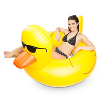 Giant Rubber Duckie Pool Float