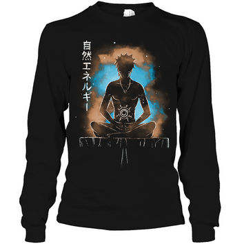 Naruto - naruto training - Unisex Long Sleeve T Shirt - SSID2016