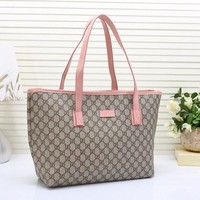 One-nice™ Gucci Women Leather Shoulder Bag Tote Handbag H