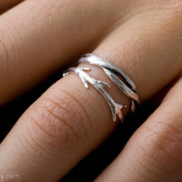 Twisty Silver Ring