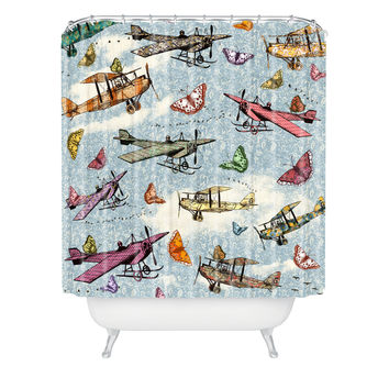 Belle13 Vintage Sky Shower Curtain