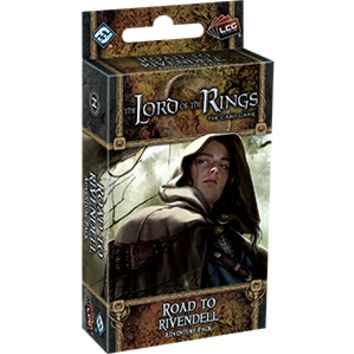 The Lord of the Rings LCG: Road to Rivendell Adventure Pack