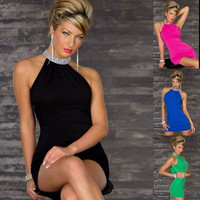 Evening Sexy Women Tight Dress Club Dresses One Size = 1958332804