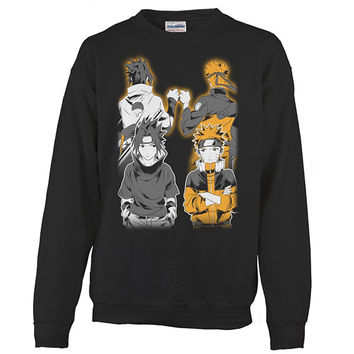Naruto - Naruto and Sasuke Best Friend - Unisex Sweatshirt T Shirt - SSID2016