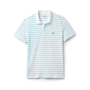 Men's Robert George Irregular Stripe Polo Shirt