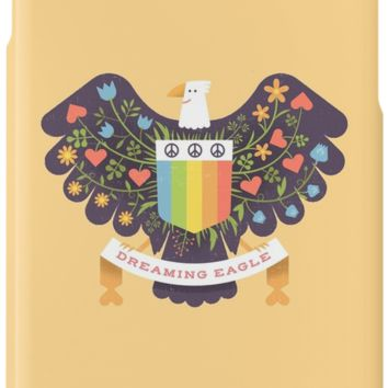 'Dreaming (not Screaming) Eagle' iPhone Case/Skin by LordWharts