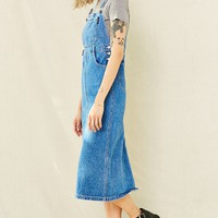 Vintage 90s Calvin Klein Overall Dress - Urban Outfitters