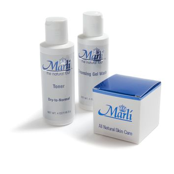 Marli Complete Skin Care Kit (Cleanser, Toner, Wrinkle Erase) - $14 savings