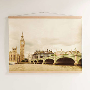 Happee Monkee For DENY Big Ben Art Print - Urban Outfitters