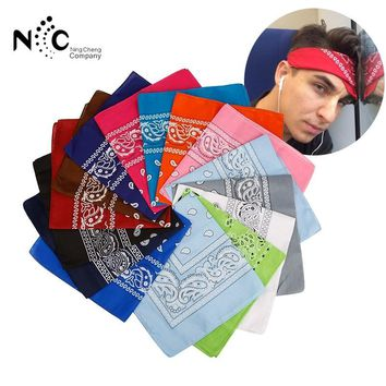 Men's Bicycle Bandanas Scarf Face Mask Headscarfs Polyester Cotton Headbands Wrap Wristband hair bands accesories for Women Men