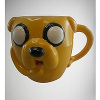 24 oz. Adventure Time Jake Molded Coffee Mug - Spencer's