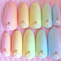 Special Price gel gradient pastel candy color