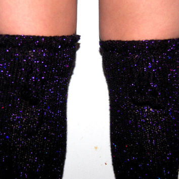 Over the Knee Leg Warmers,Sequins, Sparkling Leg Warmers, Long Leg Warmers, Sparkly 17 Inch leg warmers for Women, Sparkle, Glitter, Glamour
