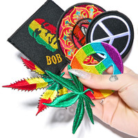 Cali Kind Jamaican Me Crazy Patches Multi One