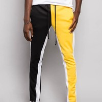 Two Tone Color Blocked Track Pants TR544 - A1B
