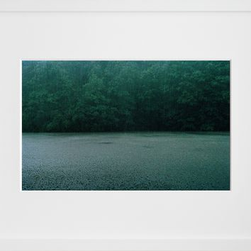 Rainfall, Upstate New York (Framed + Ready To Ship)