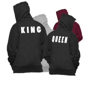 best king and queen hoodies products on wanelo. Black Bedroom Furniture Sets. Home Design Ideas