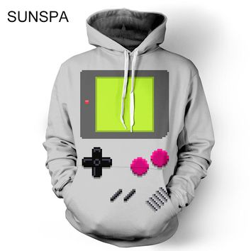 SUNSPA 2017  Anime Fashion Men/Women Sweatshirt 3d Print Adventure Time Hooded Men Hoodies With Cap Pockets lovely Tracksuits