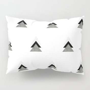 Arrows Collages Monochrome Pattern by ARTbyJWP
