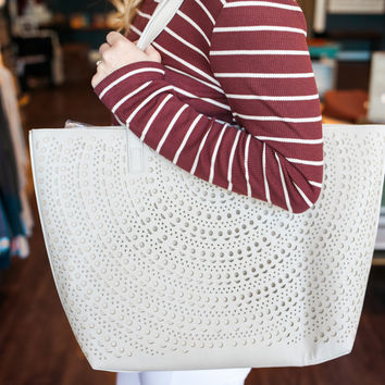 Down to Earth Tote - Stone