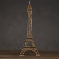Eiffel Tower Architectural Study Model