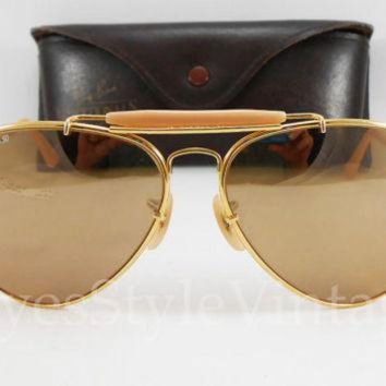 B&L Ray-Ban New Old Stock W0364 The General 62mm 50th Anniversary Vintage Sunglasses