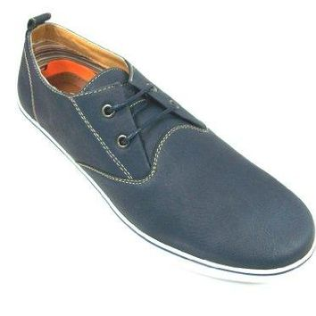 Men's 30213 2 Eye Lace Up Round Toe Moccasin Sneaker Shoes