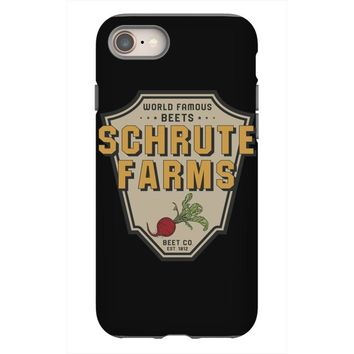 World Famous Beets Schrute Farms iPhone 8