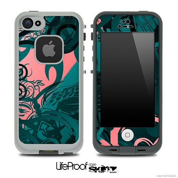 Slightly Pink Tribal Skin for the iPhone 5 or 4/4s LifeProof Case
