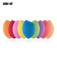 MAANGE 1 PCS Sponge Puff Pro Fundation Makeup Sponge Blender Foundation Puff Flawless Powder Smooth Beauty Egg Bigger in water