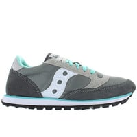 Saucony Jazz Low Pro - Grey/White/Blue Suede/Nylon Sneaker