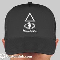 I Believe In The Illuminati Snap Back by selfMADEclothing on Etsy