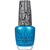 OPI Nail Lacquer, Turquoise Shatter, 0.5 Fluid Ounce