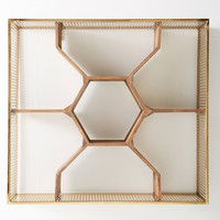 Honeycomb Shelving Unit