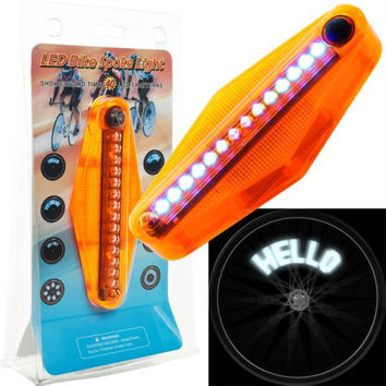 TG  LED Bike Spoke Message Light - 14 LED