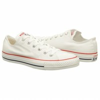 Athletics Converse Men's Chuck Taylor All Star Lo Optic White FamousFootwear.com
