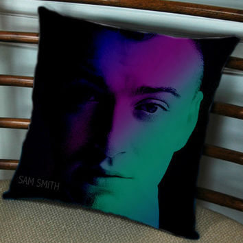 sam smith for Pillow cover