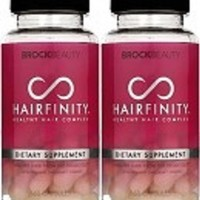 2 Months Hairfinity Vitamins Healthy Hair Rapid Long Hair Growth - Pack of 2 - 60 Capsules per bottle