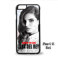 Lana Del Rey for iPhone 6, iPhone 6s, iPhone 6 Plus, iPhone 6s Plus Case