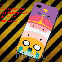 Adventure Time Totem Finn and Jake for iPhone 4/4S/5/5S/5C, Samsung Galaxy S3/S4, iPod Touch 4/5, htc One X/x+/S Case