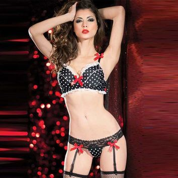 ac DCCKB5Q On Sale Cute Hot Deal Sexy Black Bra With Steel Wire Ladies Bikini Exotic Lingerie [6596488451]