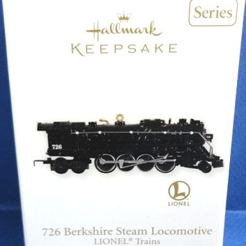 726 Berkshire Steam Locomotive 2011 Retired Hallmark Ornament